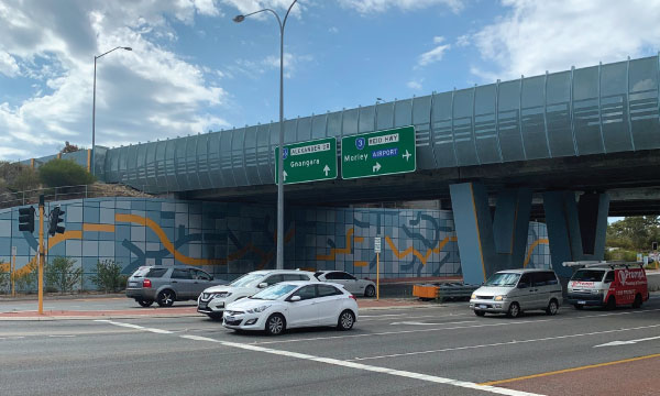 Reid Highway Mirrabooka Avenue Interchange