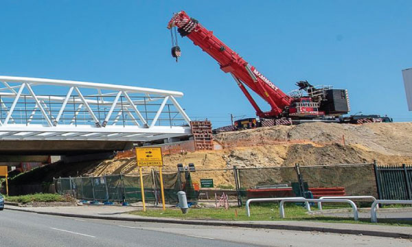 Mitchell Freeway Southbound Widening Project